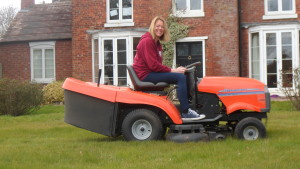 Fab new lawnmower
