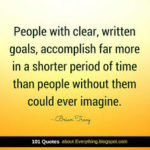 Goals - Brian Tracy