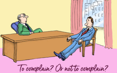 To complain or not to complain … That is the question
