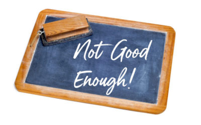"How our commitments can exacerbate a ""not good enough"" story"
