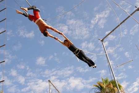 Having a safety net enables you to leap further and take greater risks